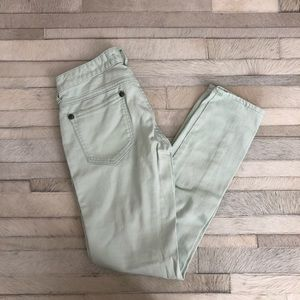 Free People Light Blue Pants Size 25